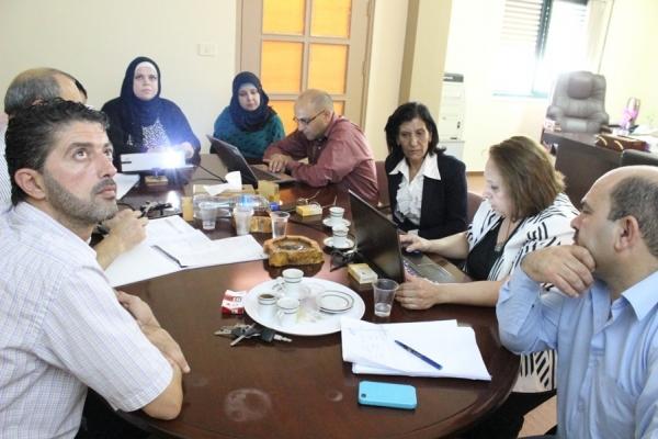 اتحاد لجان المرأة يناقش تطورات الخطة الإستراتيجية الإعلامية