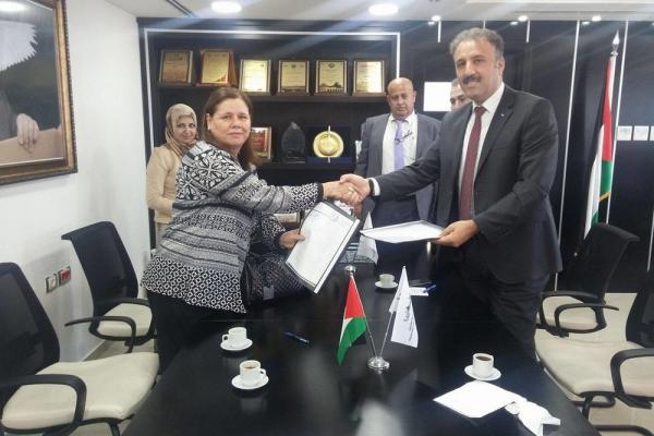توقيع اتفاقية تعزيز مشاركه المرأة في العمل الاجتماعي