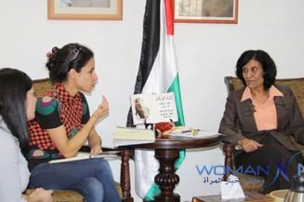 The Minister of Palestinian Women's Affairs Discusses the ...