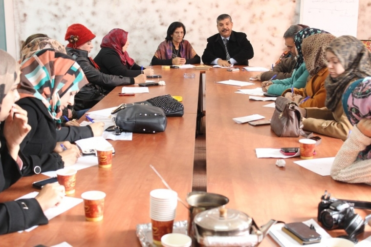 Head of AWCSW Mrs. Rabeha Diab Discusses Women's Role in Political Life