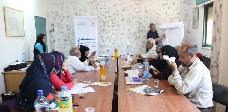 A Series of Workshops and Meetings to Define the Social Needs of Ten Palestinian Villages