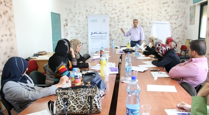 Association of Women Committees for Social Work Runs a Meeting to Support Palestinian Villages in Its Action Plans