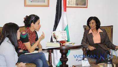 The Minister of Palestinian Women's Affairs Discusses the Mechanisms of Forming a Committee Aims at Enhancing Women's Participation in Political Life