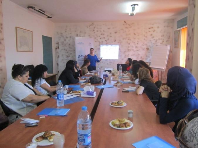 الاجتماع التحضيري الأول لإنشاء شبكة تعزيز المرأة في الحياة السياسية